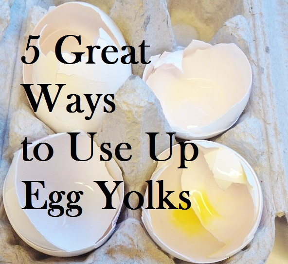 5 Great Ways to Use Up Egg Yolks