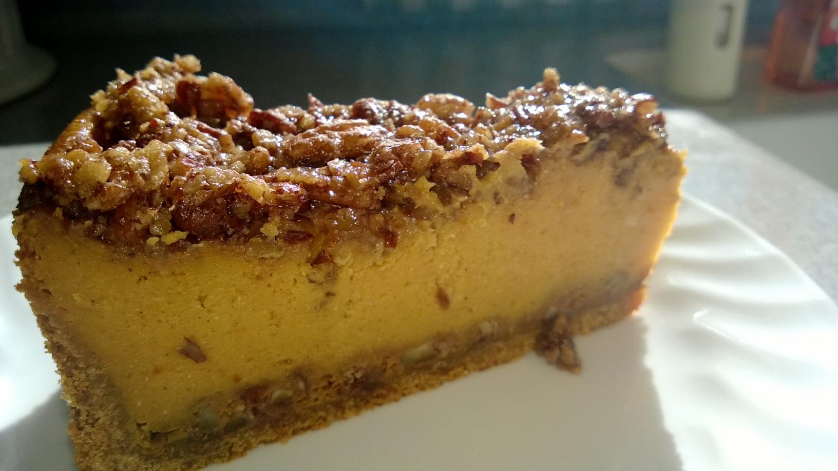 Easy Pumpkin Praline Cheesecake Recipe