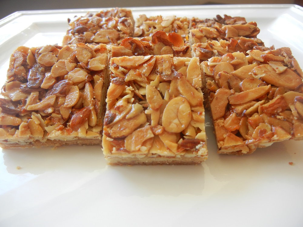 Almond Honey Squares 2