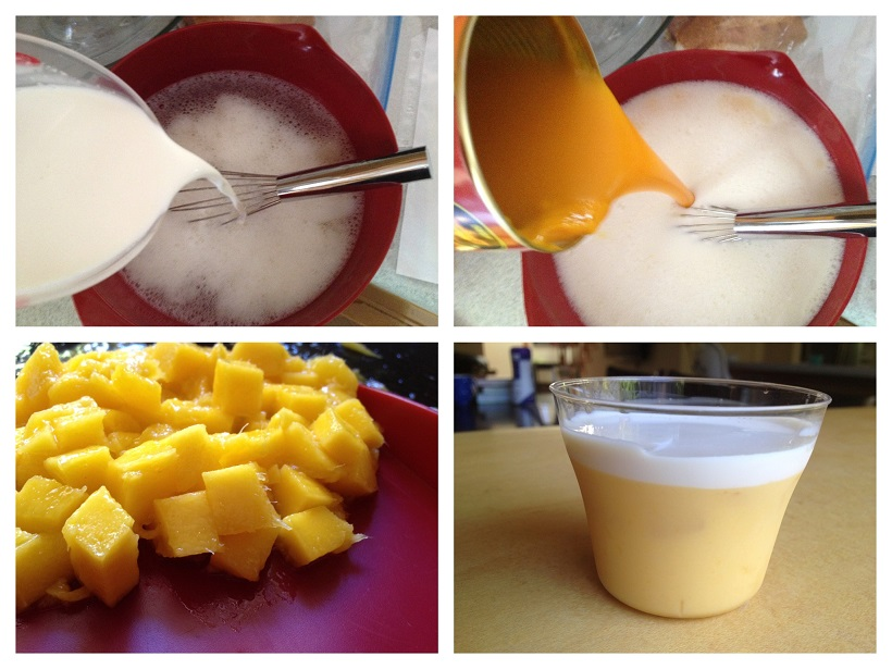Make delicious Mango Pudding!