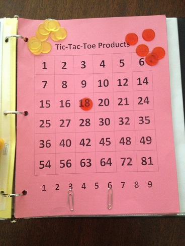 Tic Tac Toe Products Move 1