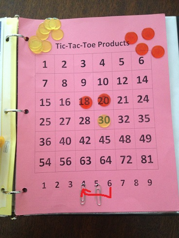 Tic Tac Toe Products Move 3