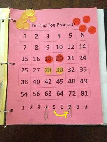 Tic Tac Toe Products Move 4