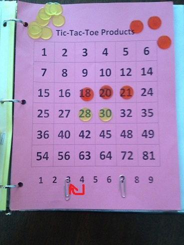 Tic Tac Toe Products Move 5