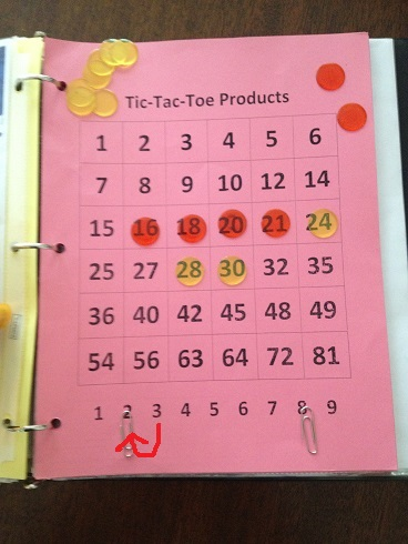 Tic Tac Toe Products Move 7