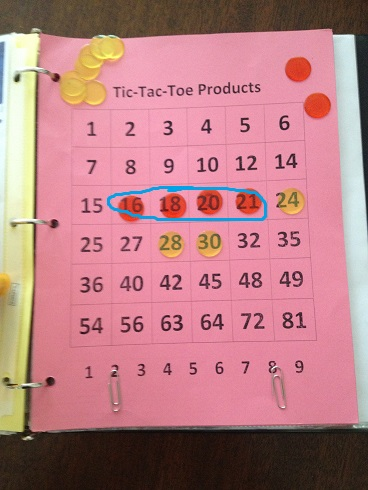 Tic Tac Toe Products Winner