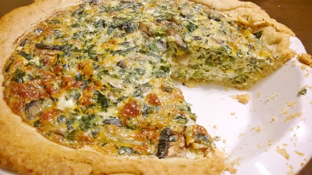 Yummy Egg White Quiche Recipe