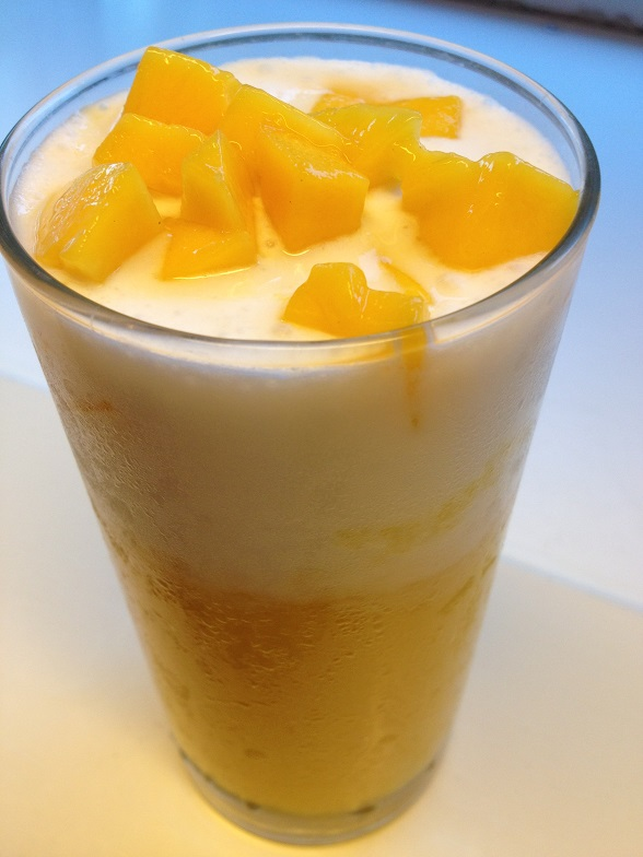 Mango coconut drink recipe