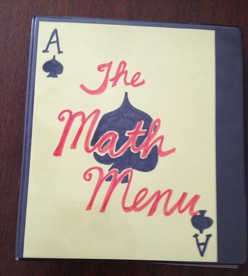 The Original Math Menu