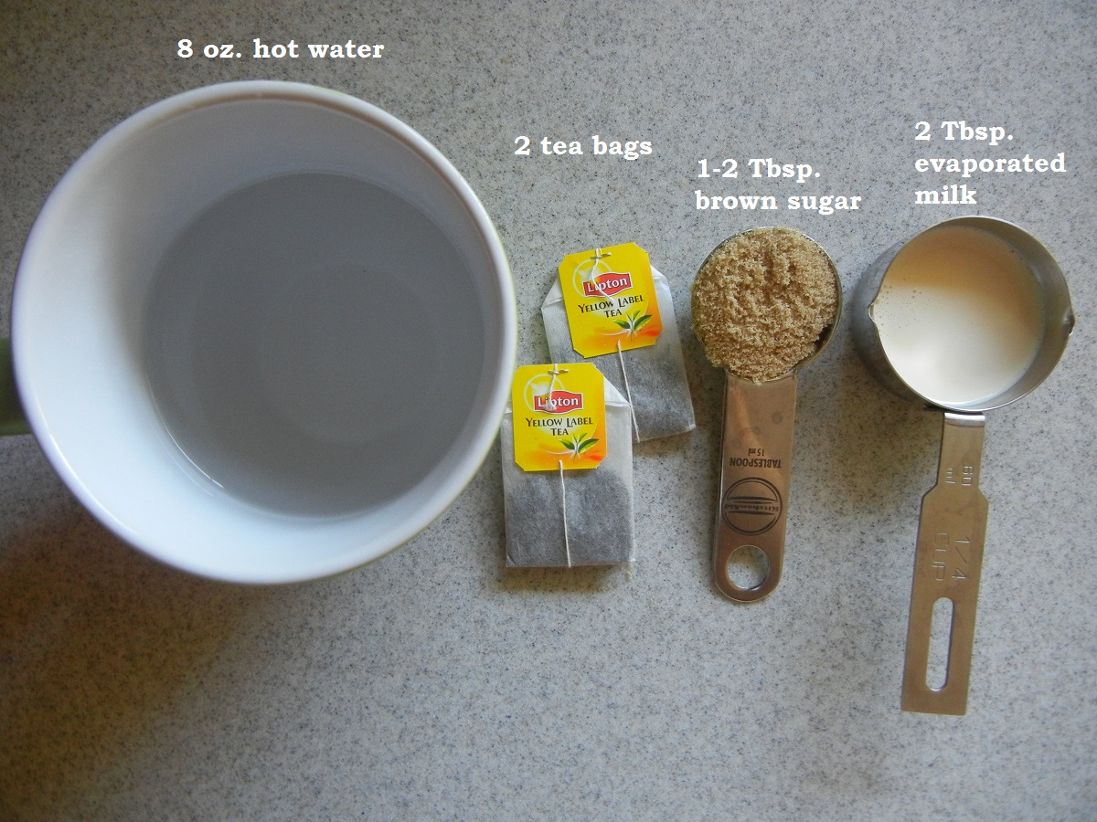 HK Style Milk Tea-- easy and satisfying!