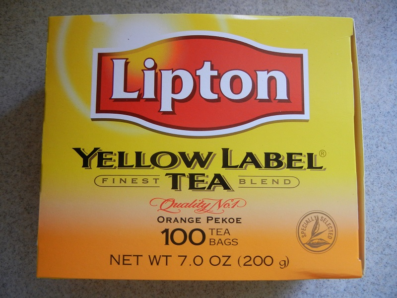Use Lipton Orange Pekoe tea for Hong Kong Style Milk Tea