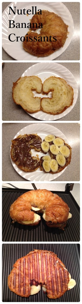 Insanely Delicious (and Easy!) Nutella Banana Croissant Recipe!