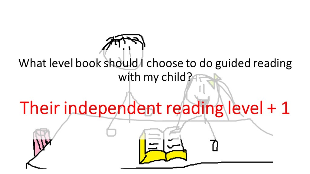 Choosing the right book level for guided reading