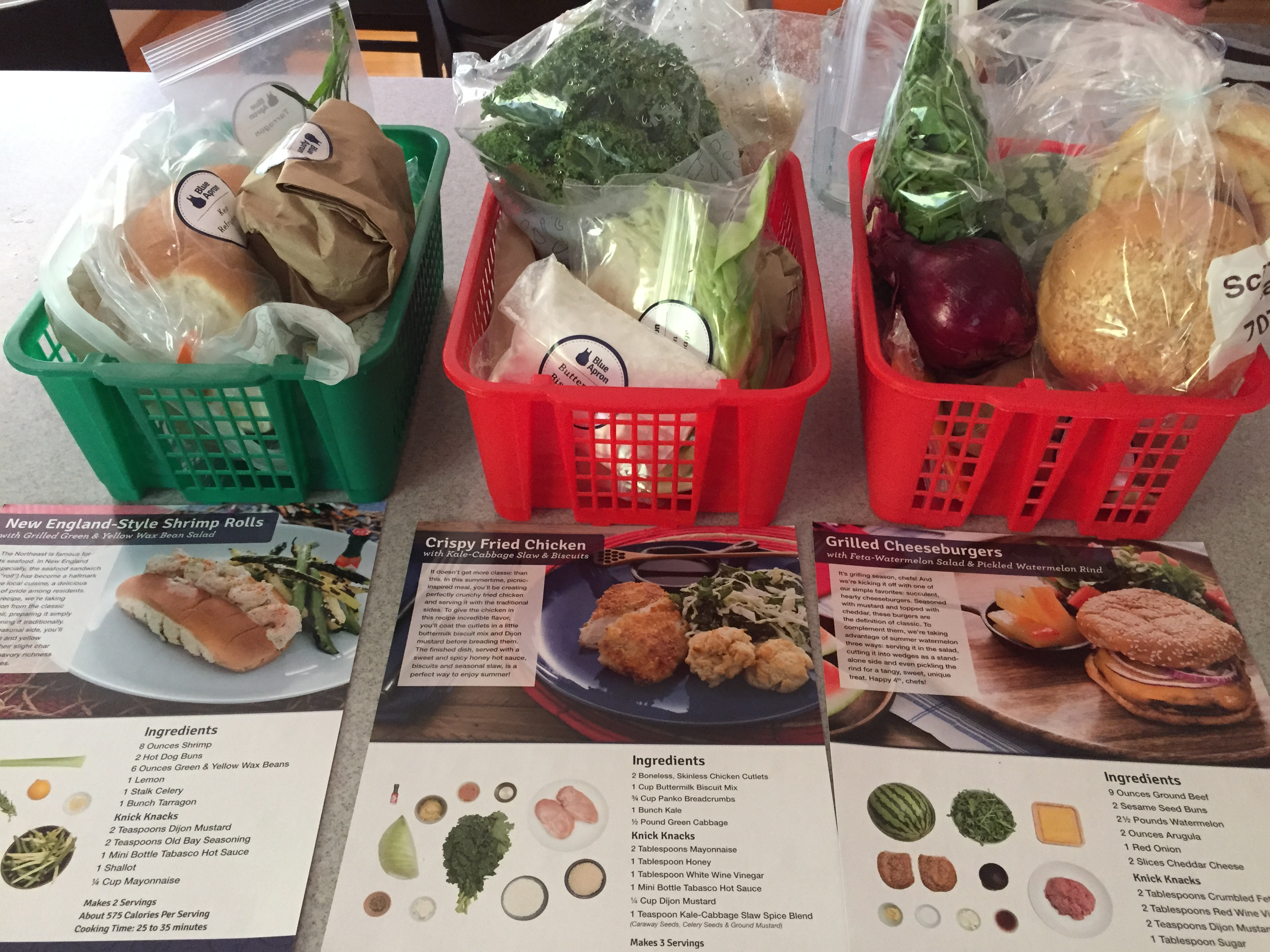 Blue apron delivery