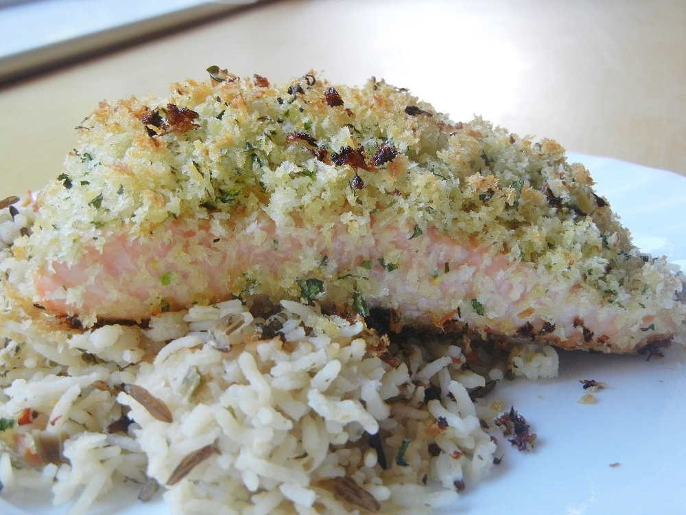 Delicious Panko Crusted Salmon Recipe