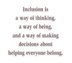 Dissertations on barriers to effective inclusion