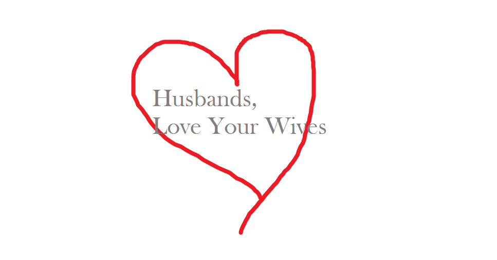 love your wife as the church